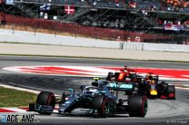 """Bottas: """"No pace difference"""" between me and Hamilton in race"""