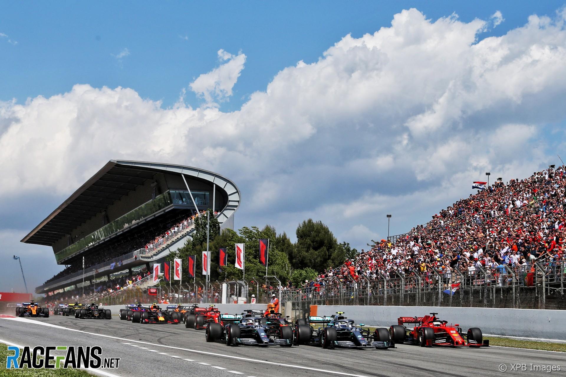 Start, Circuit de Catalunya, 2019