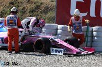 Lance Stroll, Racing Point, Circuit de Catalunya, 2019