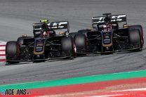 Kevin Magnussen, Romain Grosjean, Haas, Circuit de Catalunya, 2019