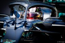 Hamilton almost a second ahead of Ferrari in first practice