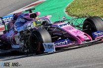 Nick Yelloly, Racing Point, Circuit de Catalunya