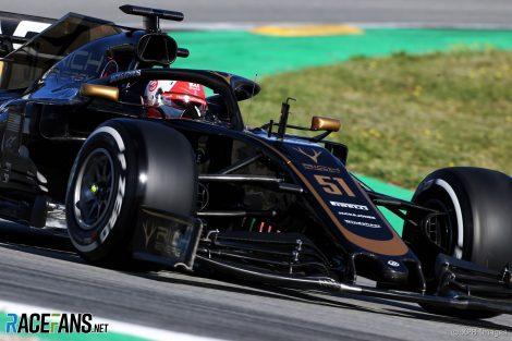 Pietro Fittipaldi, Haas, Circuit de Catalunya
