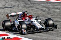 Kimi Raikkonen, Alfa Romeo, Circuit de Catalunya