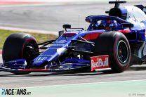 Alexander Albon, Toro Rosso, Circuit de Catalunya