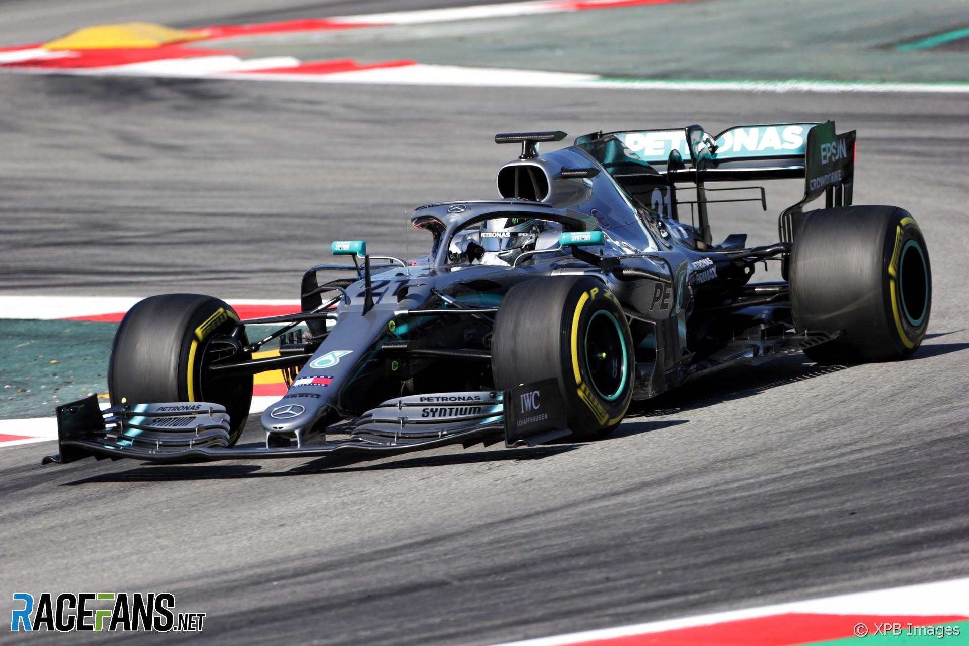 Nikita Mazepin, Mercedes, Circuit de Catalunya