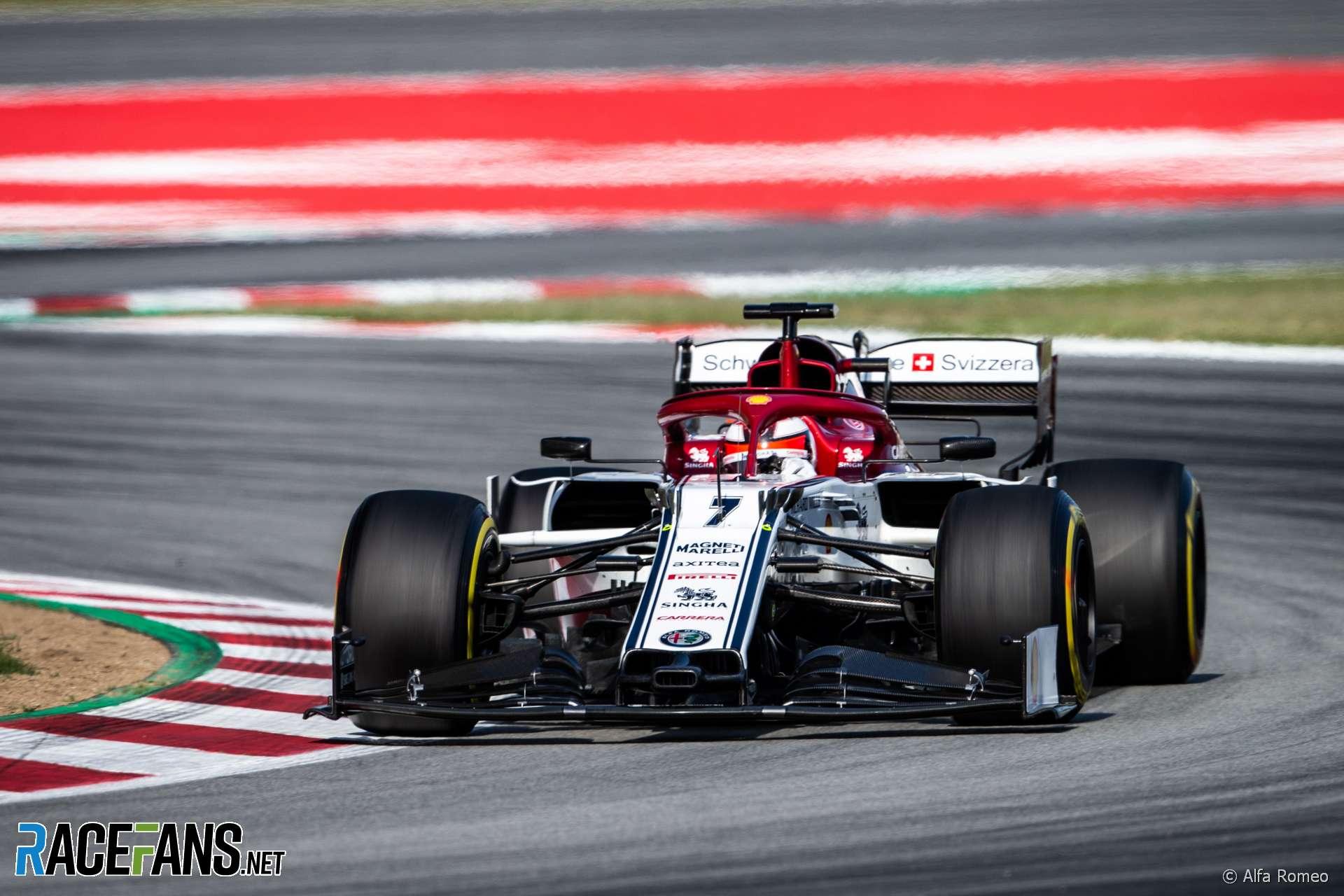 Kimi Raikkonen, Alfa Romeo, Circuit De Catalunya · RaceFans