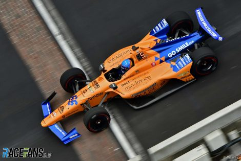 Fernando Alonso, McLaren, IndyCar, Indianapolis, 2019