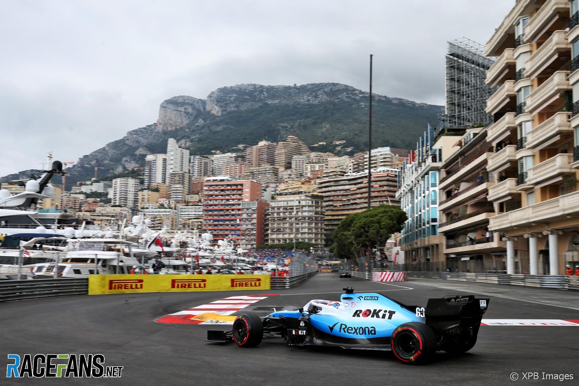 George Russell, Williams, Monaco, 2019