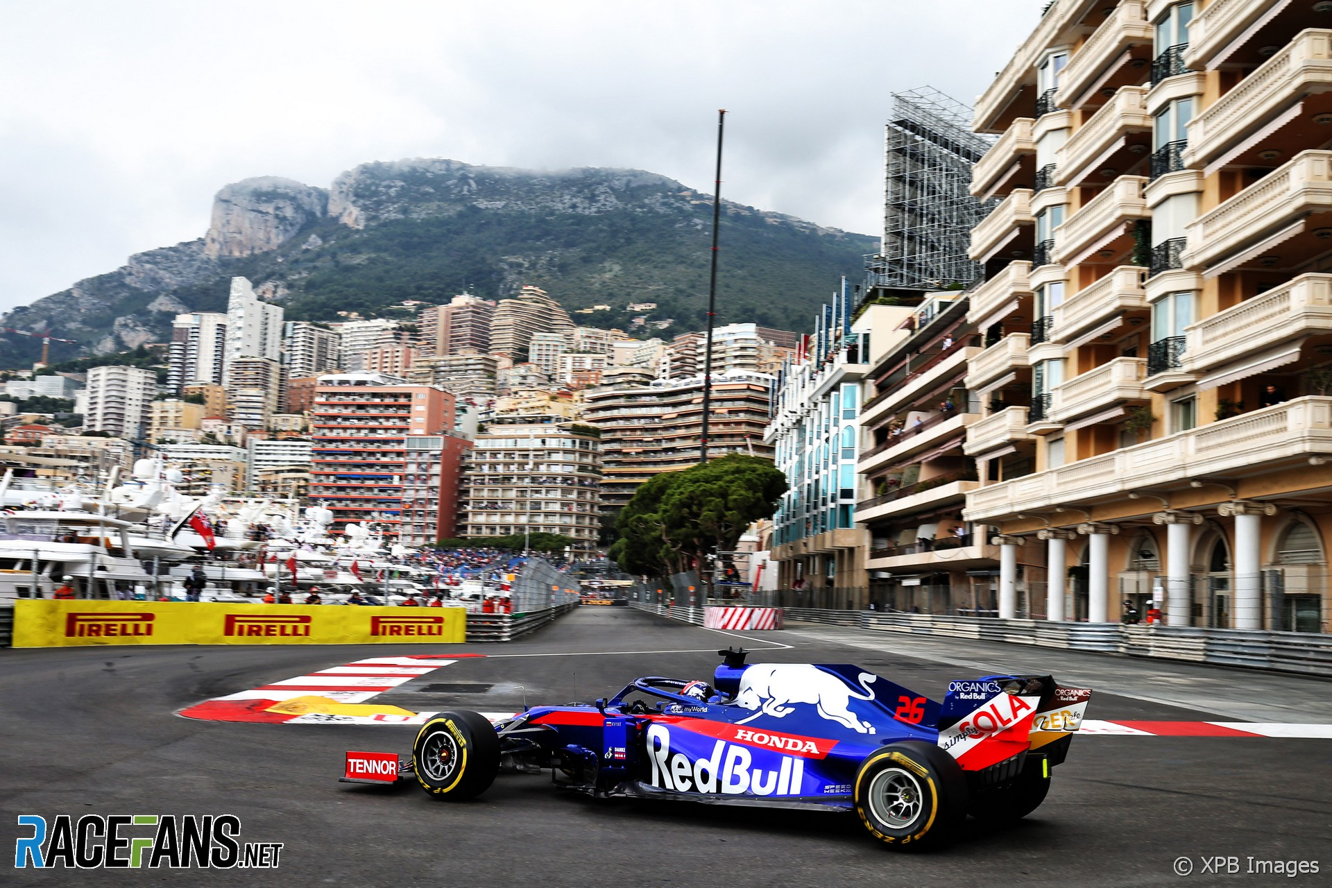 Daniil Kvyat, Toro Rosso, Monaco, 2019