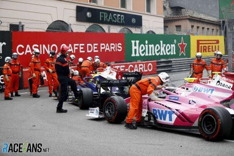 Tatiana Calderon, Mick Schumacher, F2, Monaco, 2019