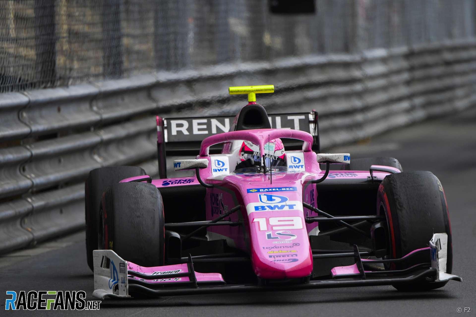 Anthoine Hubert, Monaco, F2, 2019