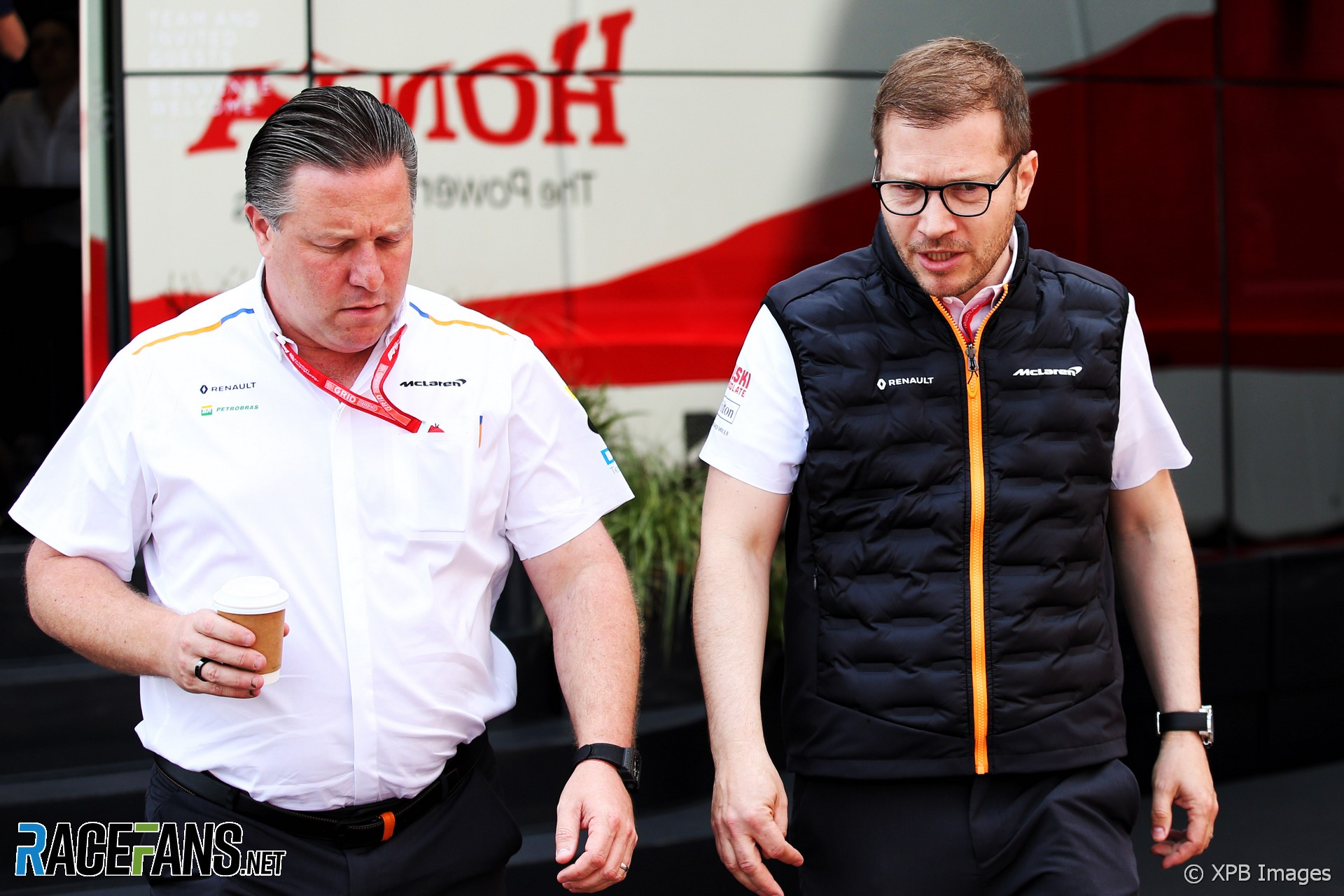 Zak Brown, Andreas Seidl, McLaren, Monaco, 2019
