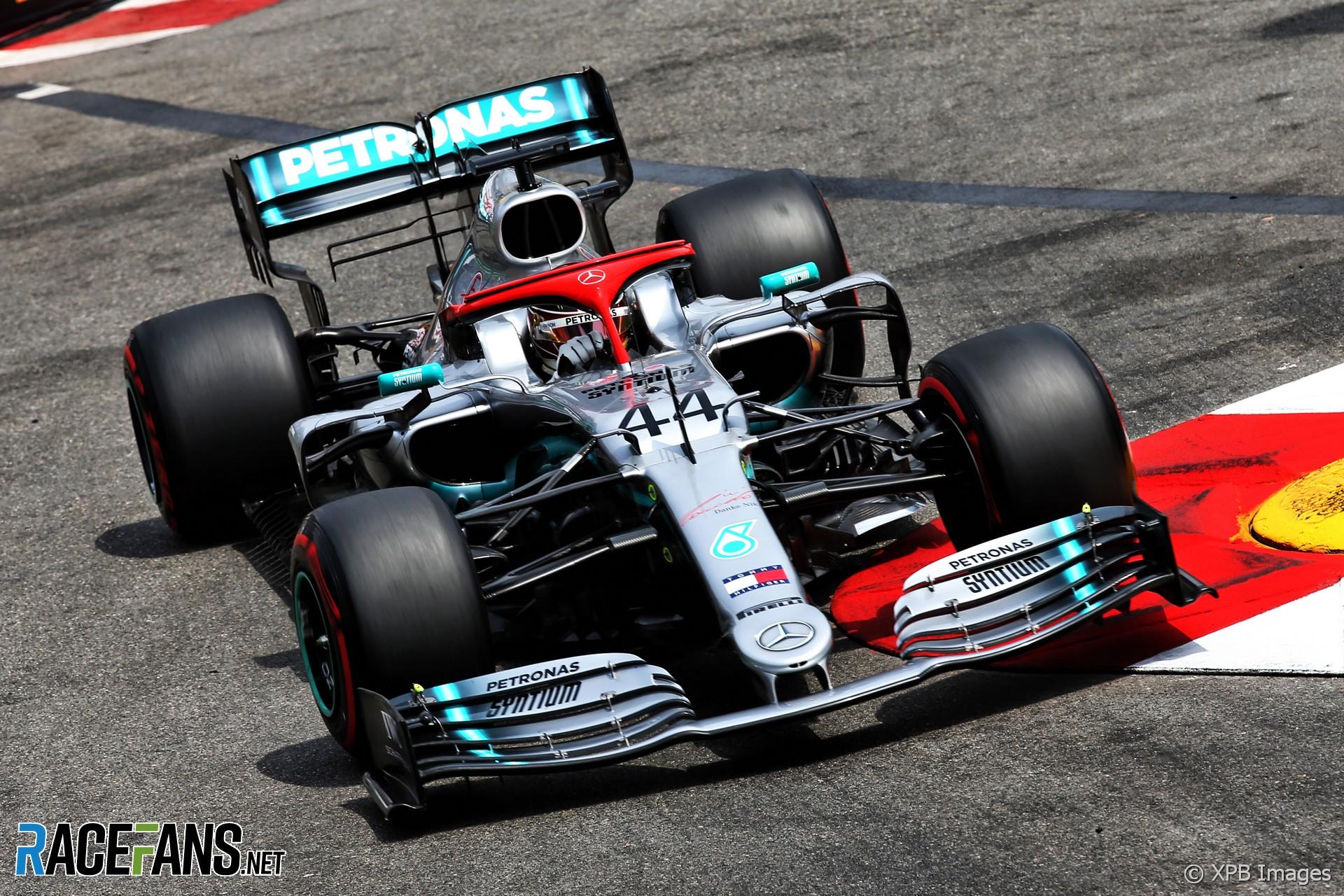 2019 Monaco Grand Prix grid