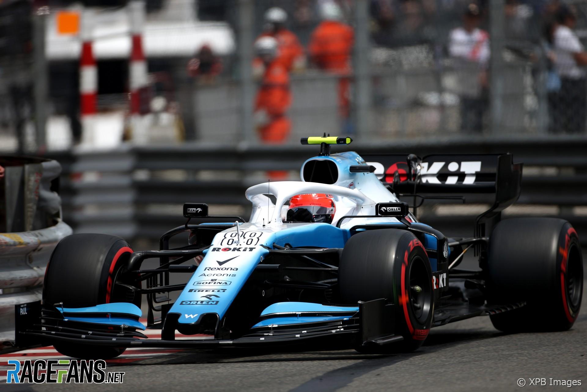 Robert Kubica, Williams, Monaco, 2019 · RaceFans