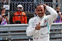 Hamilton takes pole from Bottas as Ferrari error leaves Leclerc 16th