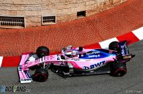 Sergio Perez, Racing Point, Monaco, 2019