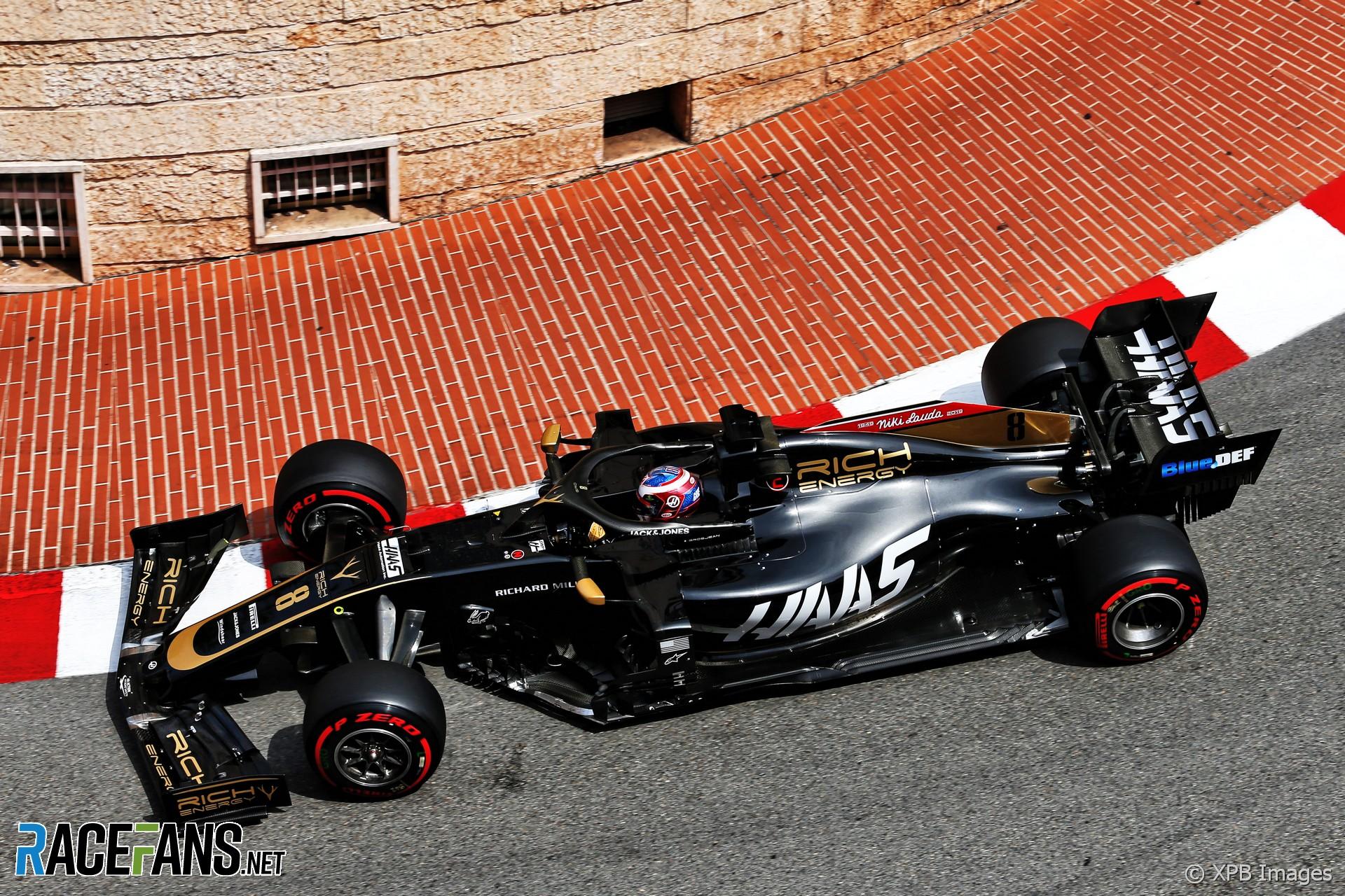 Romain Grosjean, Haas, Monaco, 2019 · RaceFans