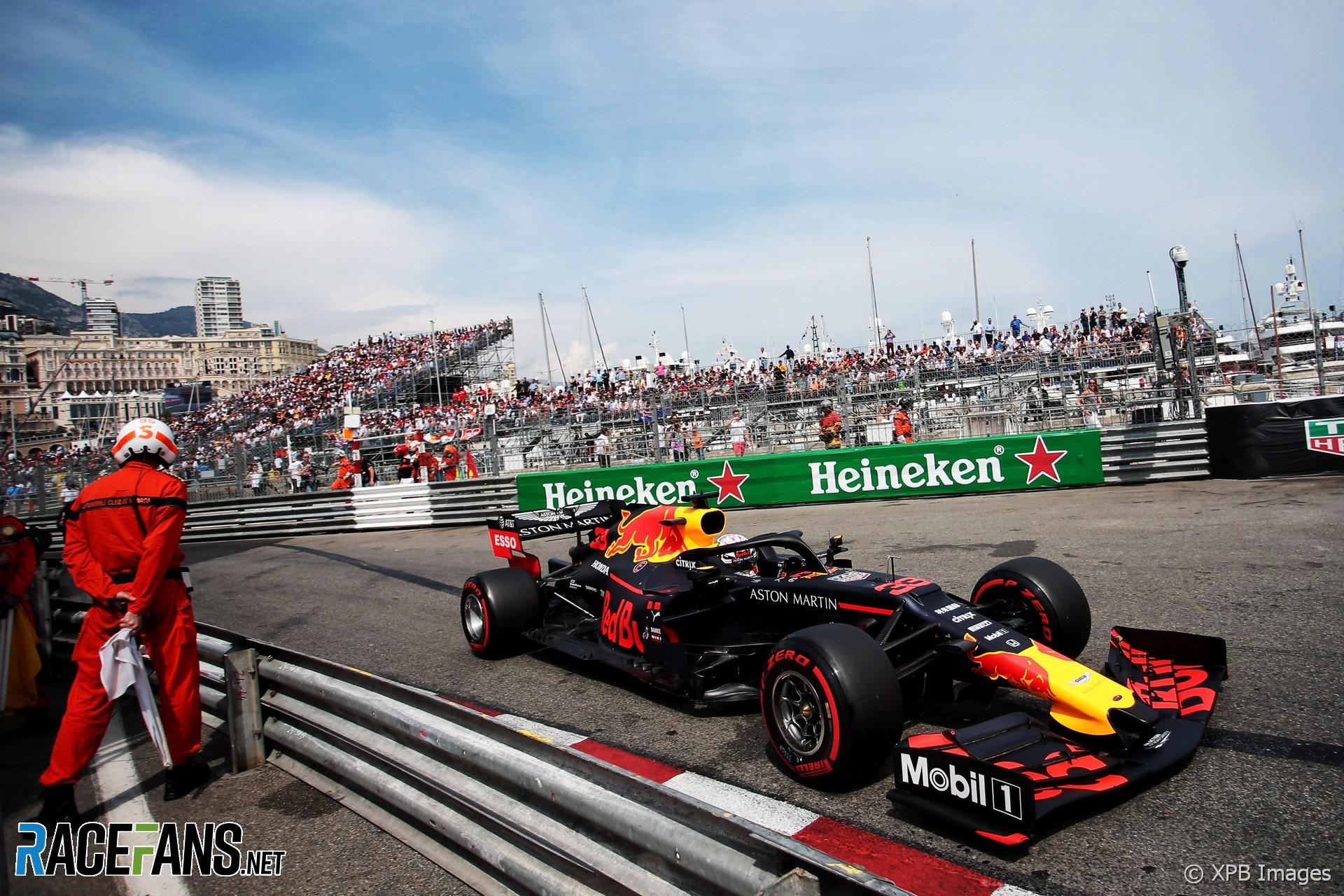 Max Verstappen, Red Bull, Monaco, 2019