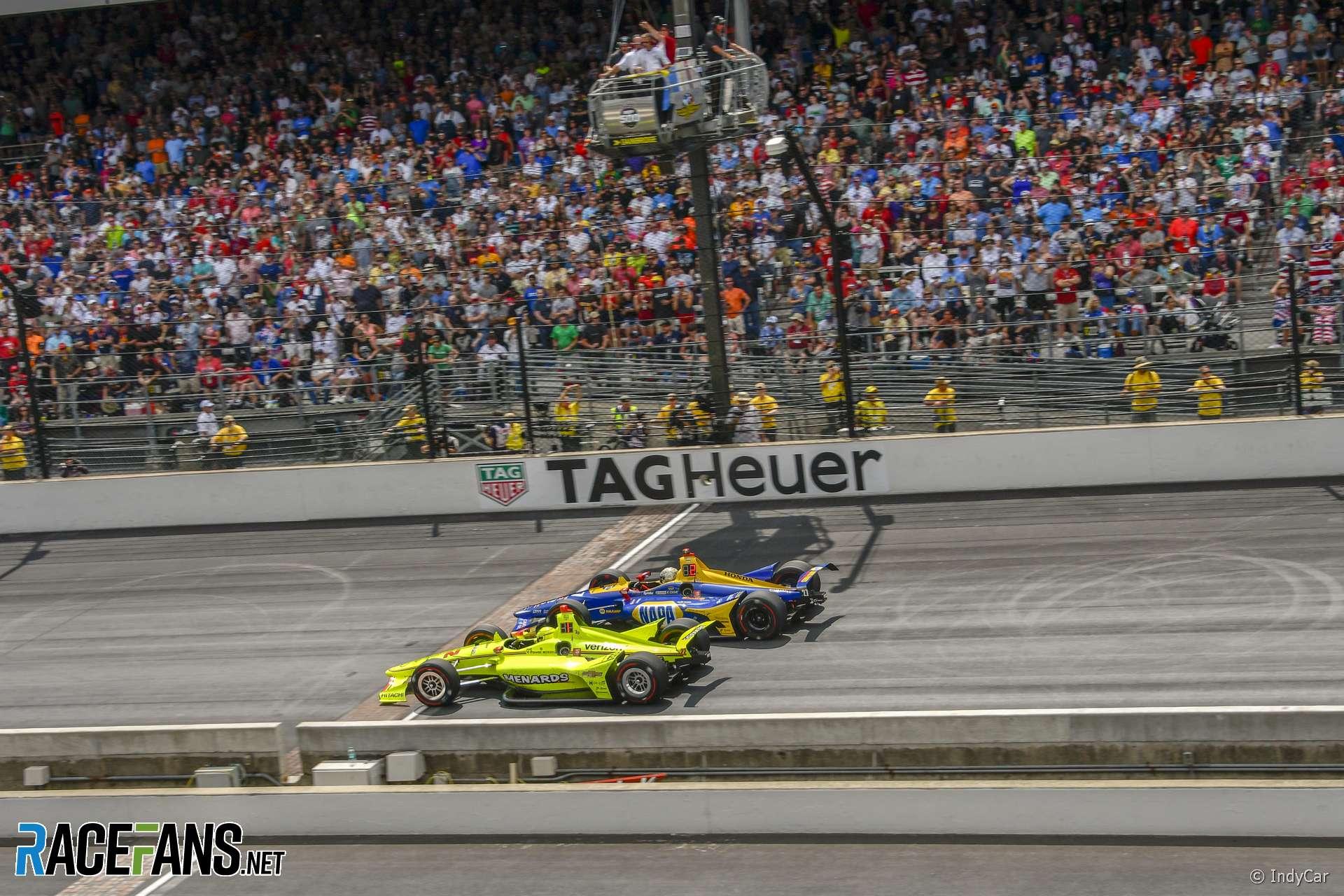 Simon Pagenaud, Alexander Rossi, IndyCar, Indianapolis 500, 2019