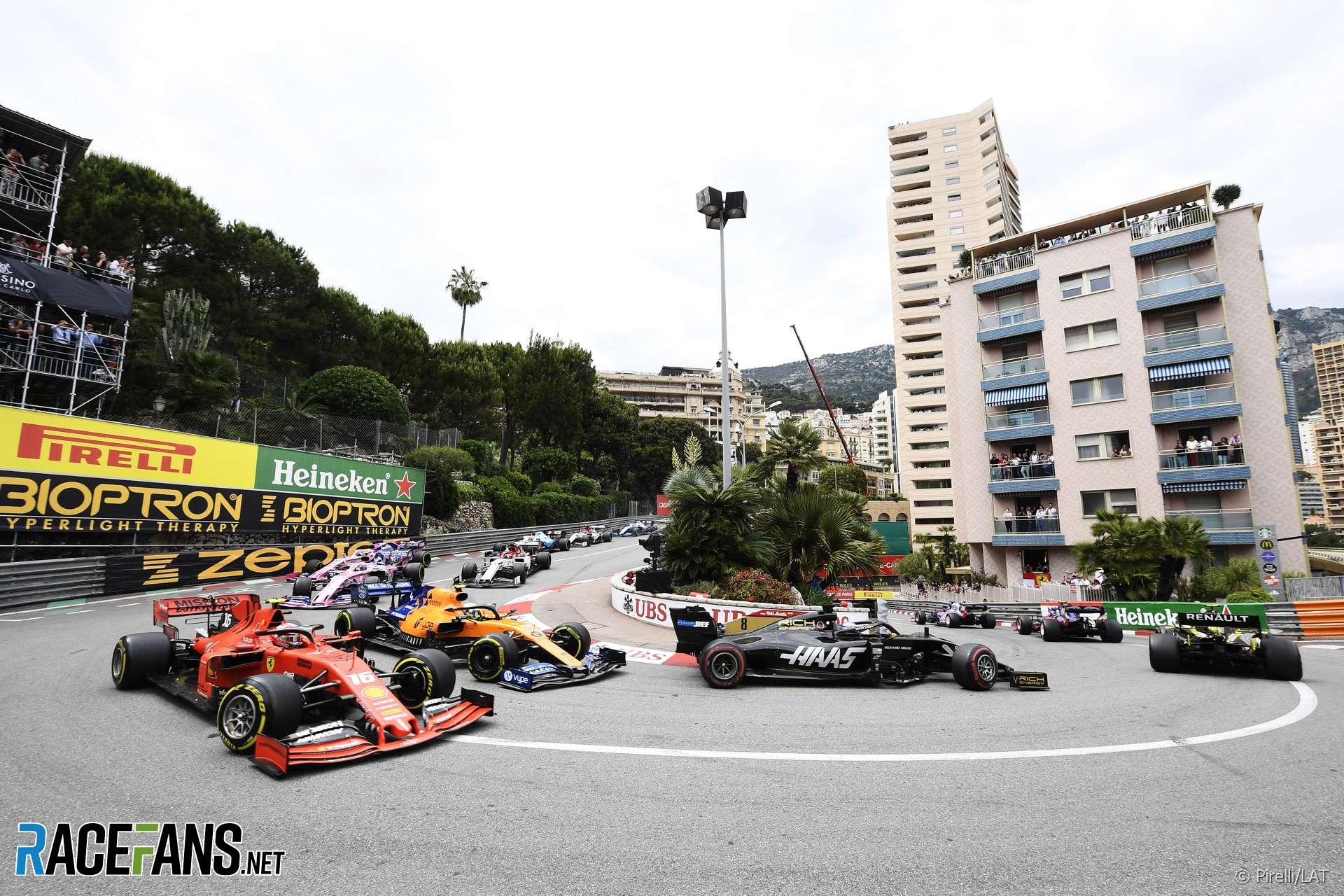 Start, Monaco, 2019
