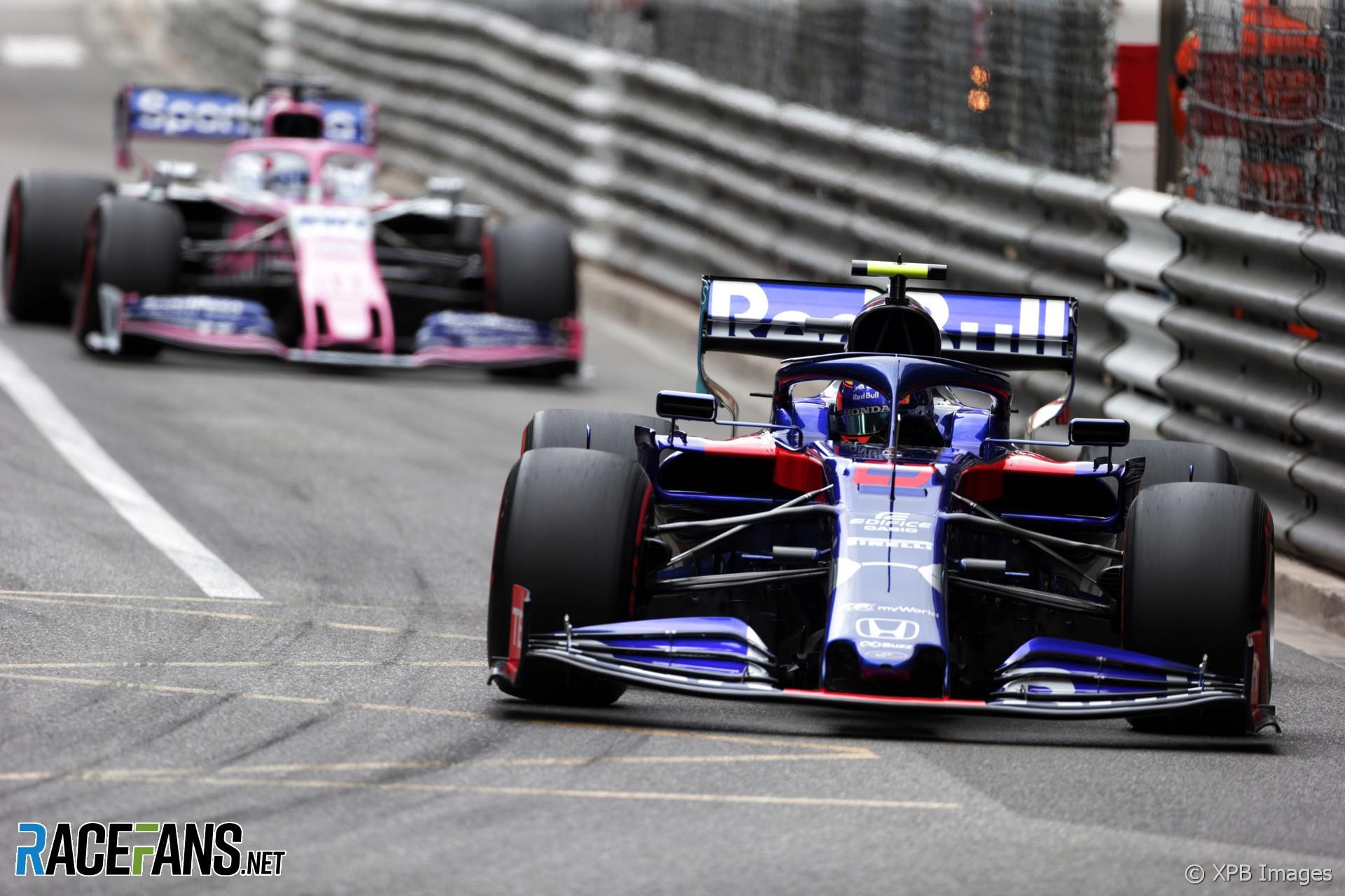 Alexander Albon, Toro Rosso, Monaco, 2019