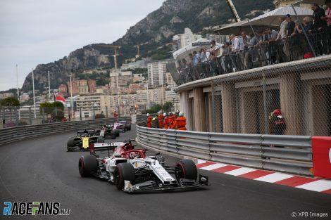 Kimi Raikkonen, Alfa Romeo, Monaco, 2019