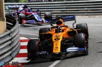 "Kvyat was ""one car length away"" from beating Sainz"