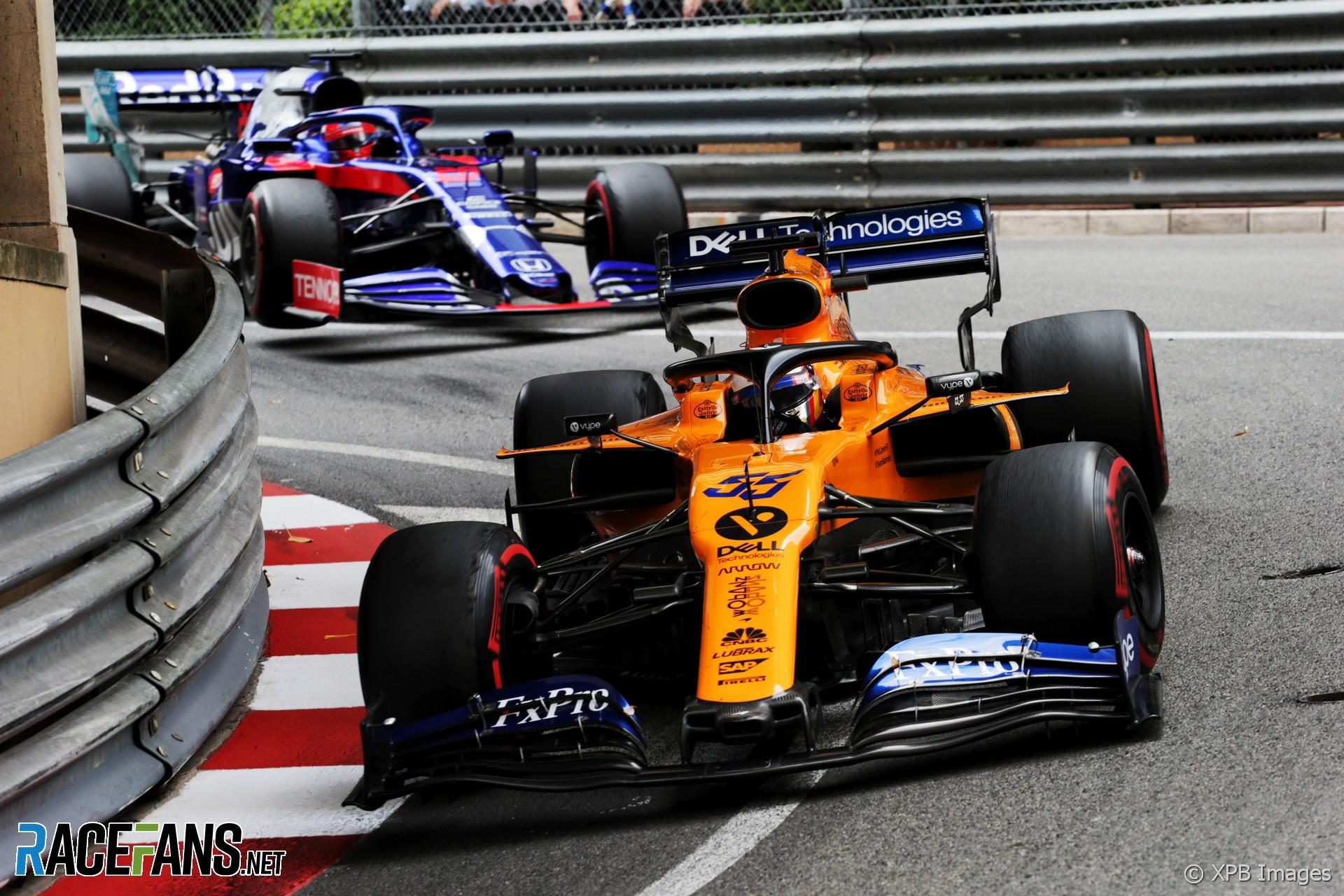 Carlos Sainz Jnr, McLaren, Monaco, 2019