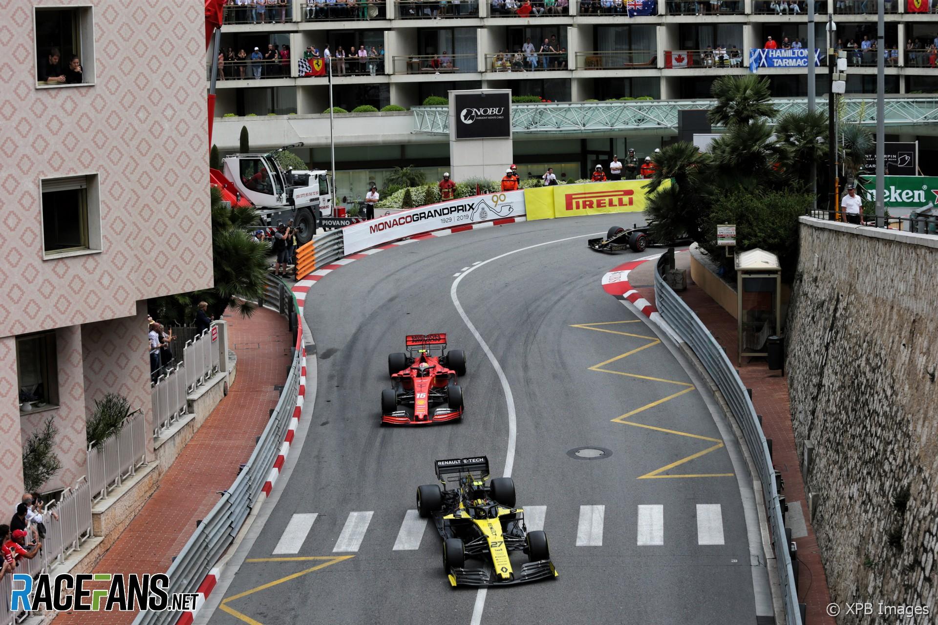 Nico Hulkenberg, Renault, Monaco, 2019