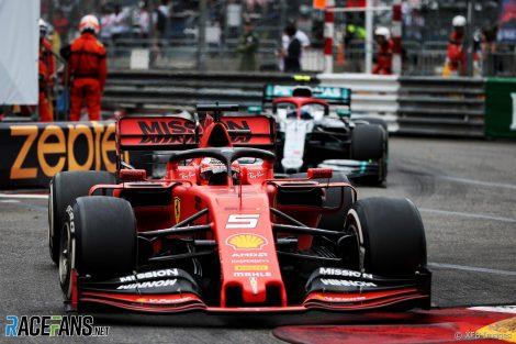 Sebastian Vettel, Valtteri Bottas, Monaco, 2019