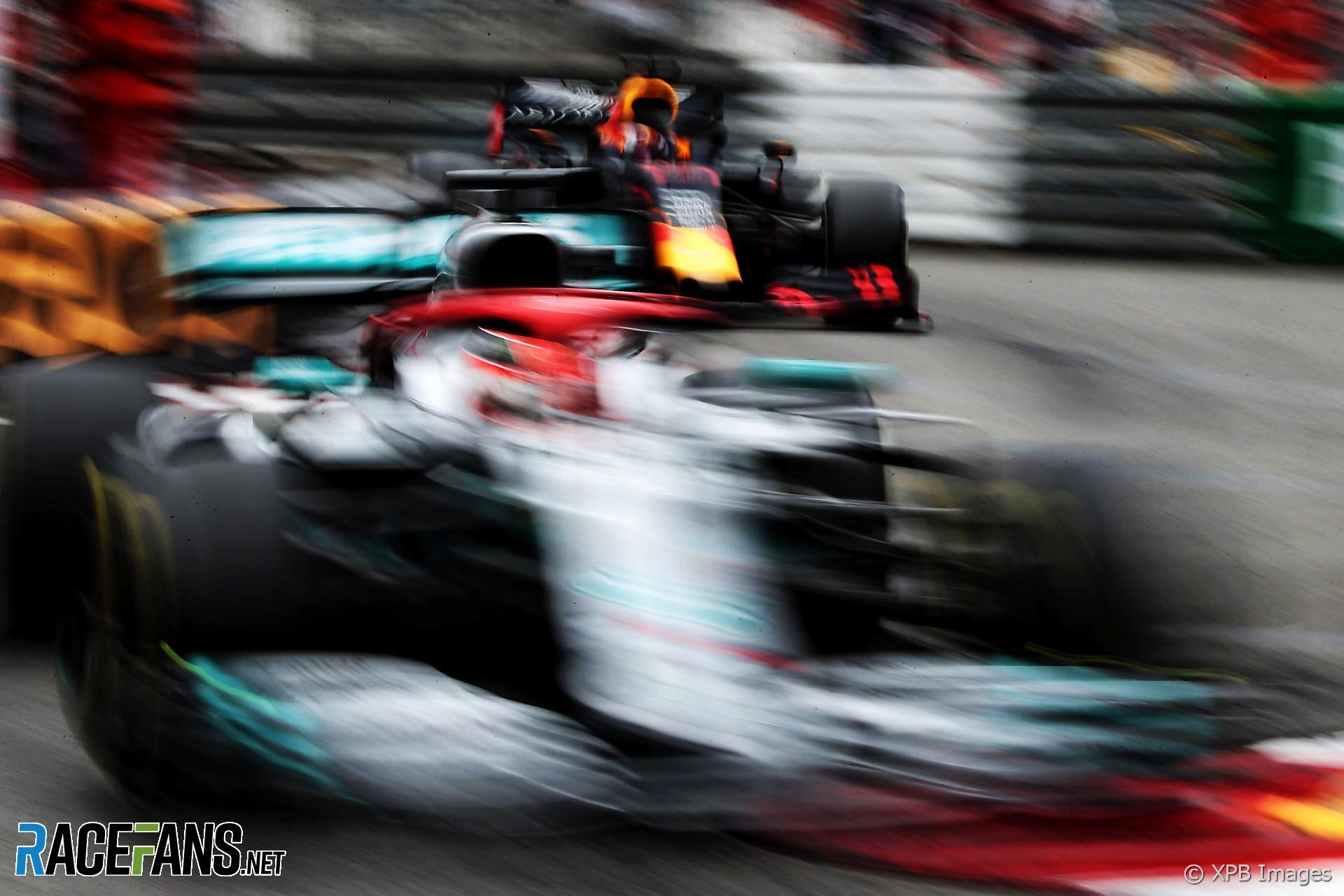 Lewis Hamilton, Max Verstappen, Monaco, 2019