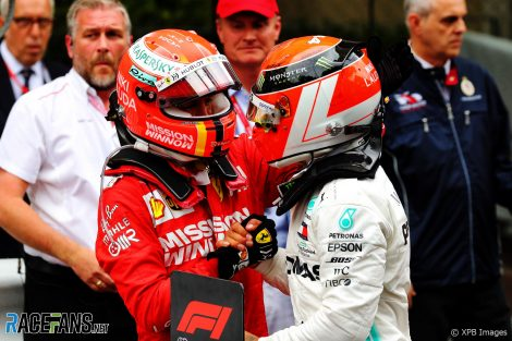 Sebastian Vettel, Lewis Hamilton, Monaco, 2019