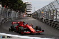 "Leclerc says he ""had to take risks"" in Monaco GP"