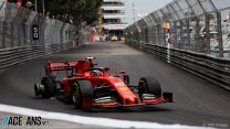 """Leclerc says he """"had to take risks"""" in Monaco GP"""