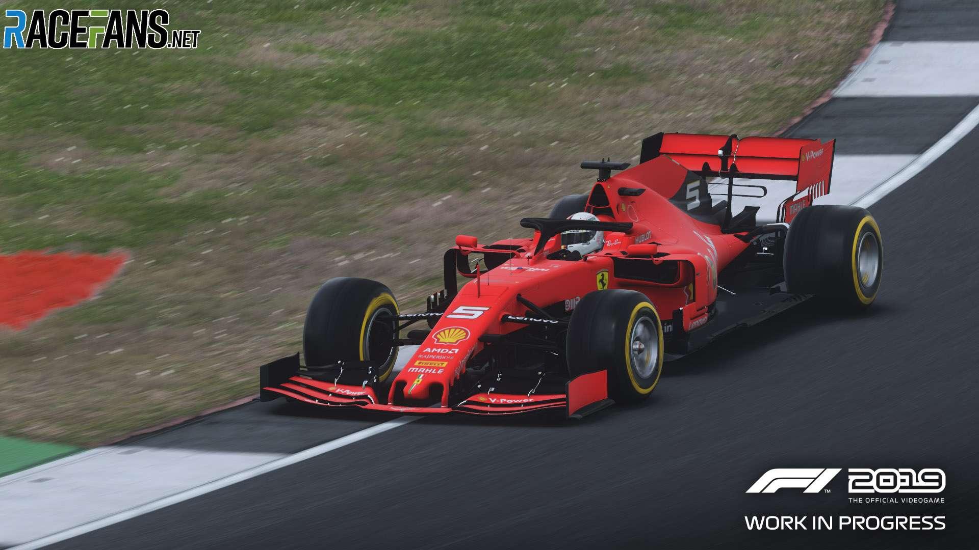 F1 2019: Ferrari