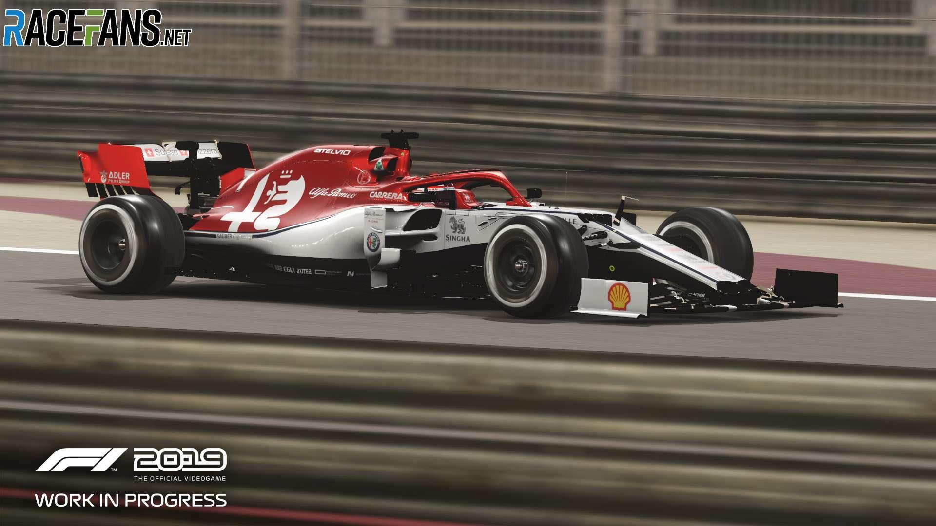 F1 2019: Alfa Romeo