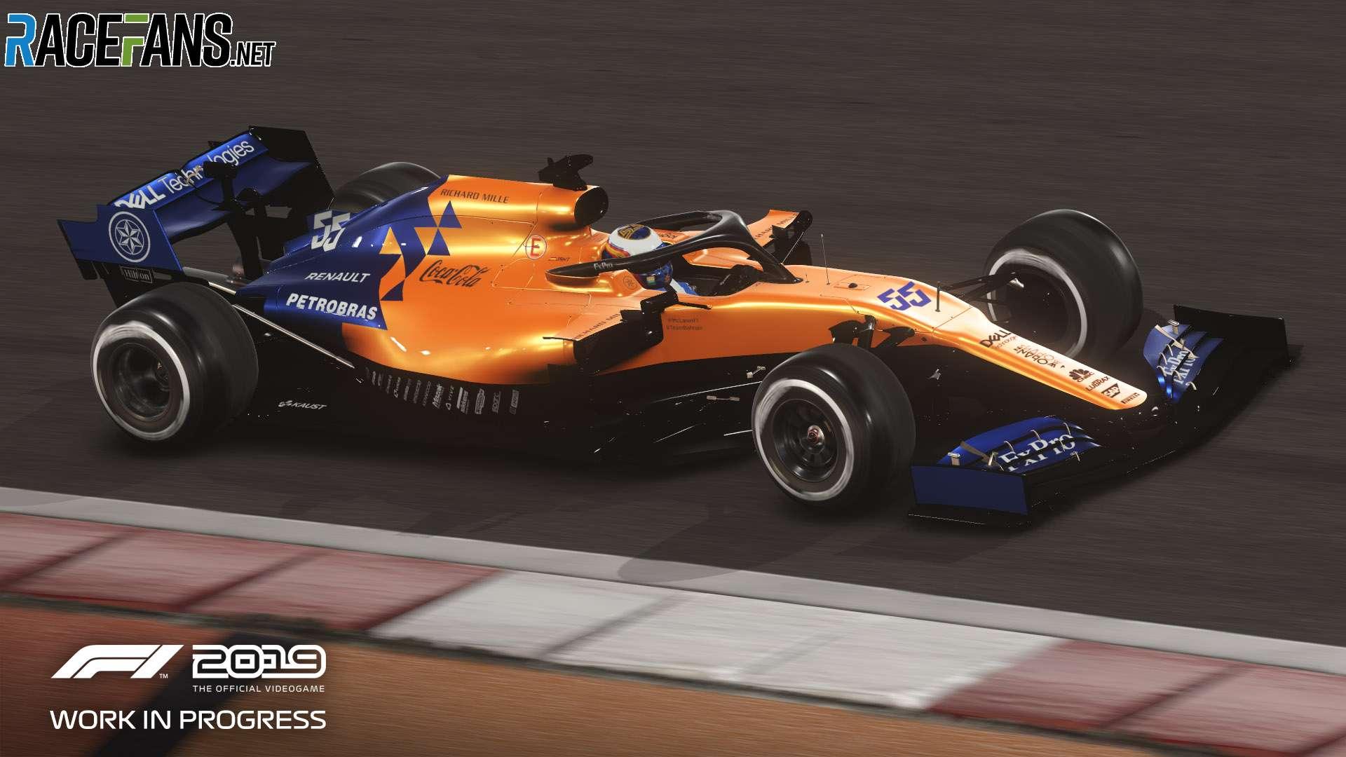 F1 2019: Mclaren