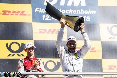 Gary Paffett,, Mercedes, DTM, 2018