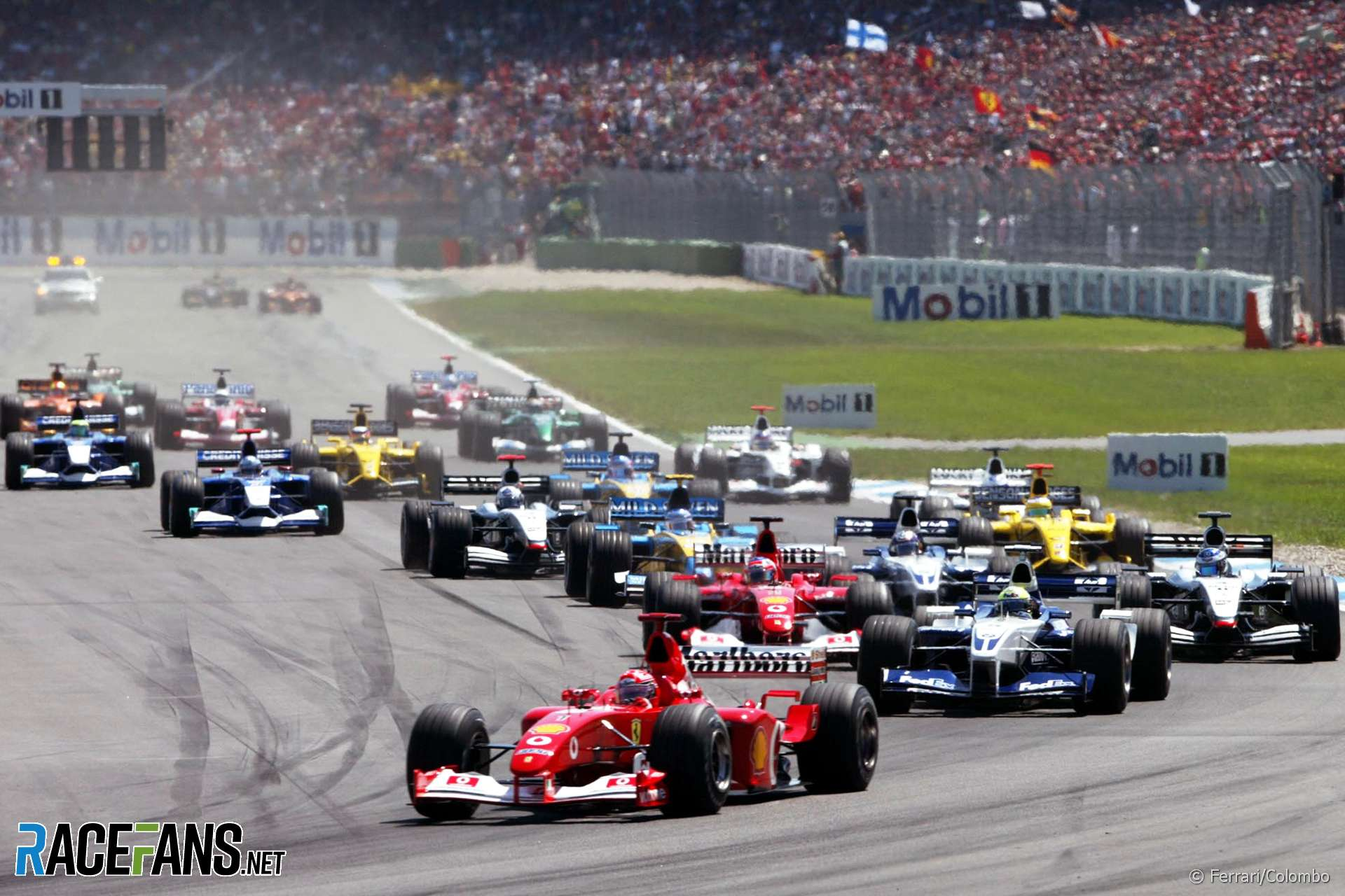 Start, Hockenheimring, 2002