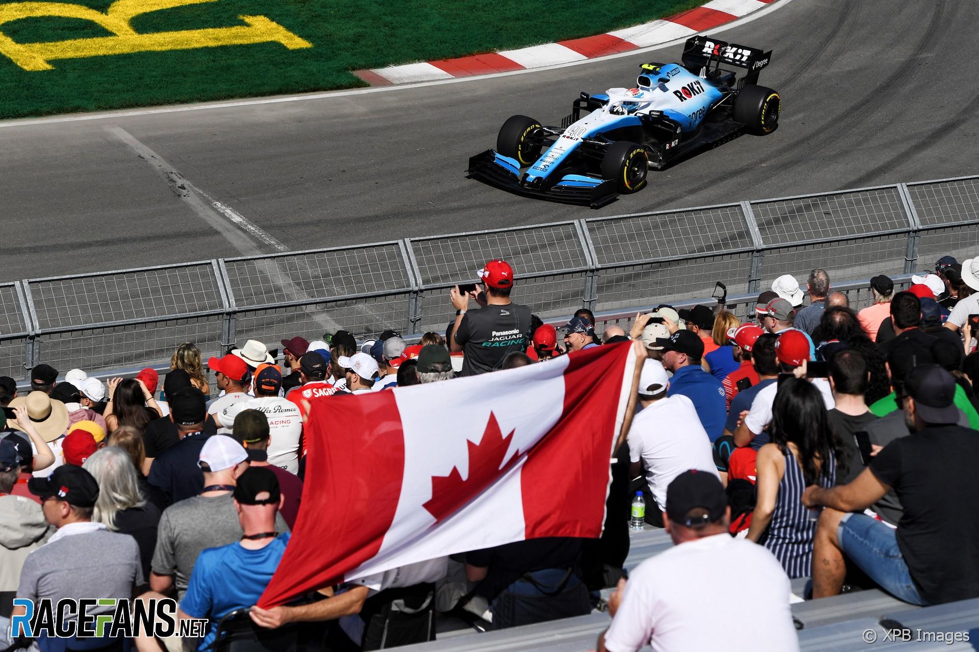 Nicholas Latifi, Williams, Circuit Gilles Villeneuve, 2019