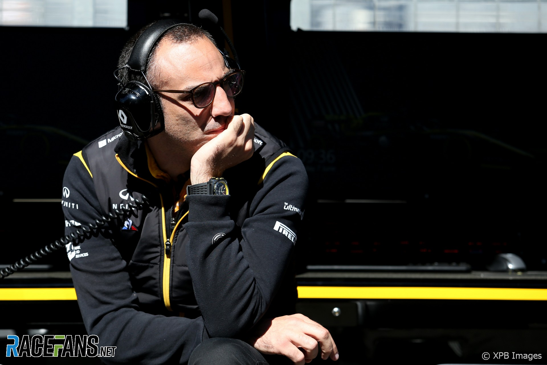 Cyril Abiteboul, Renault, Circuit Gilles Villeneuve, 2019