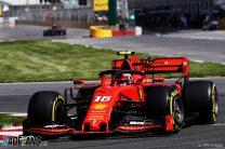 Leclerc leads Ferrari one-two after Hamilton crashes