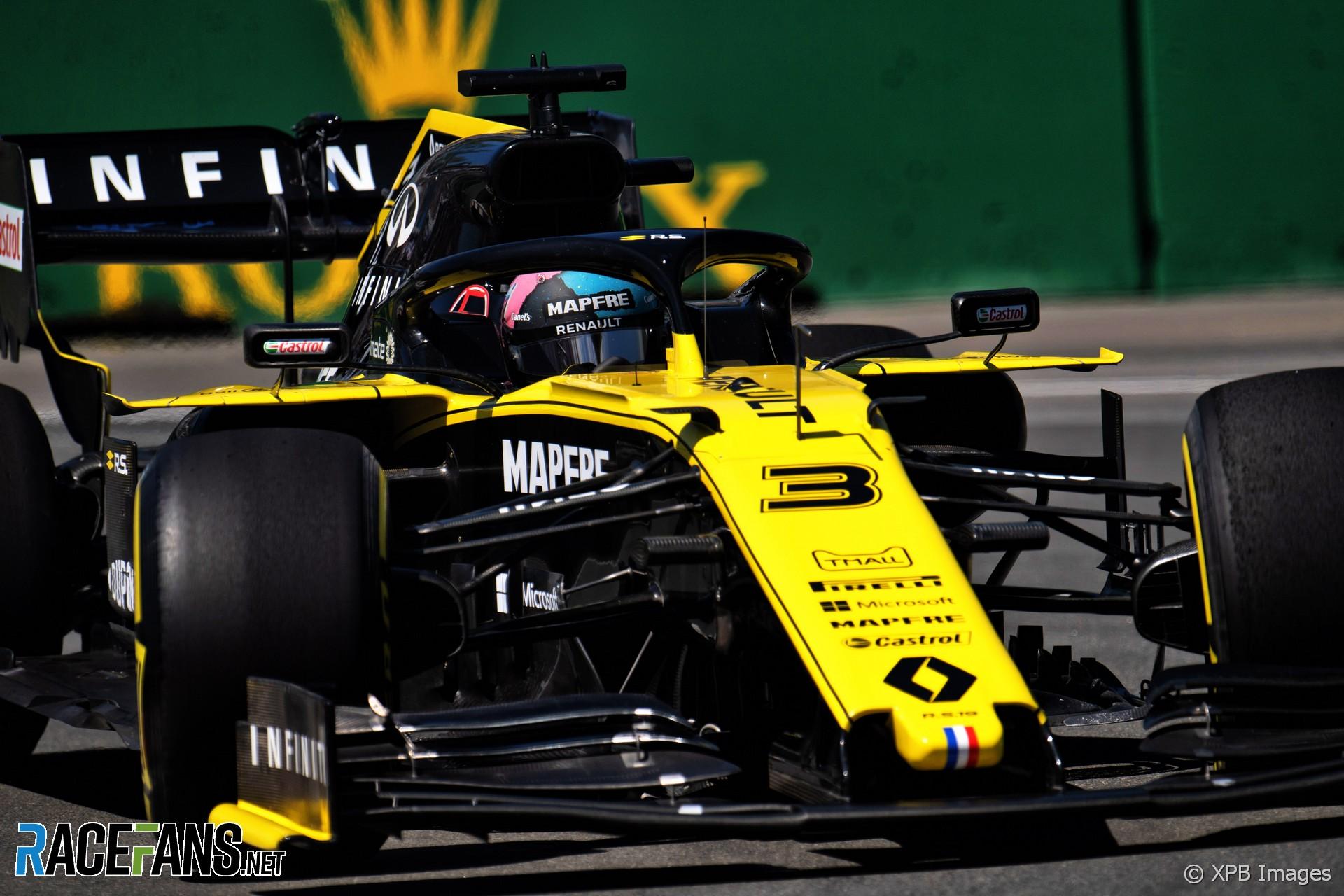 F1 Second Row Start Better Than Beating Red Bull For Ricciardo Racefans