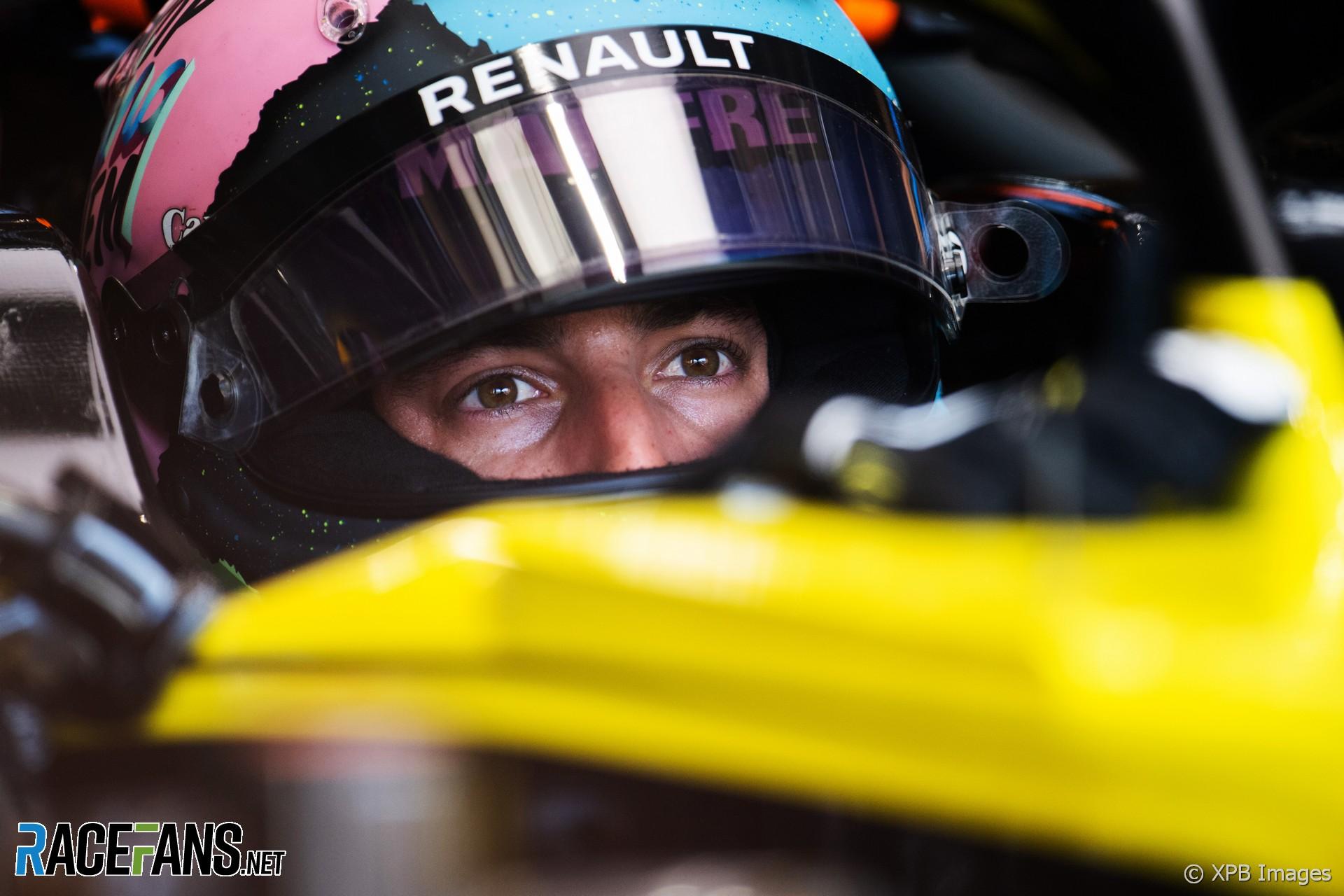 "Ricciardo says Renault must ""make bigger steps"" in second half of 2019"