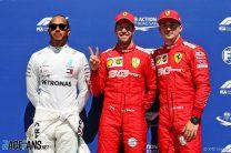 Lewis Hamilton, Sebastian Vettel, Charles Leclerc, Circuit Gilles Villeneuve, 2019
