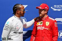 Vettel denies Hamilton pole position with his final lap