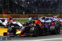 Start, Circuit Gilles Villeneuve, 2019