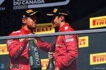 Sebastian Vettel, Charles Leclerc, Ferrari, Circuit Gilles Villeneuve, 2019