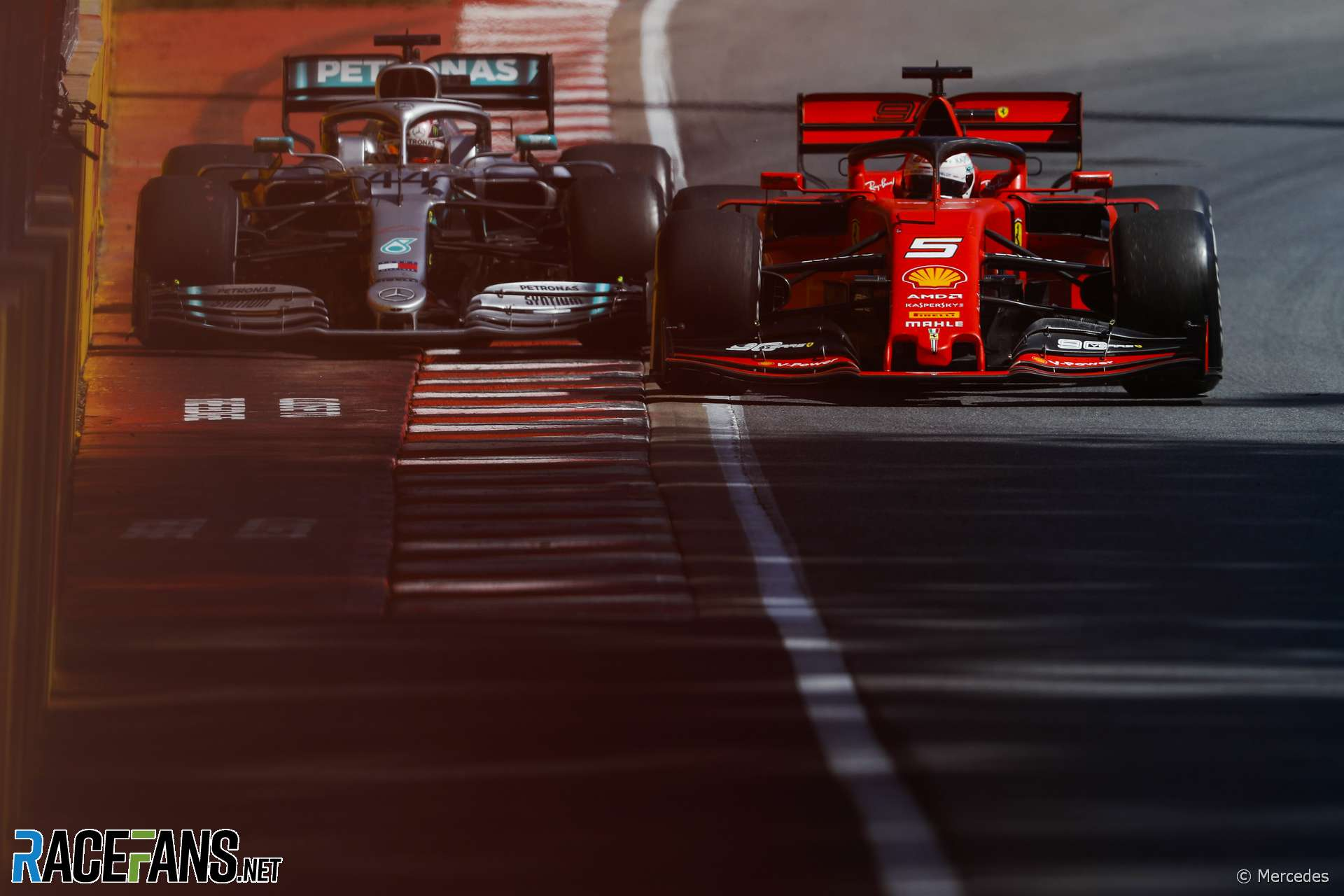Lewis Hamilton, Sebastian Vettel, Circuit Gilles Villeneuve, 2019